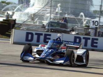 Àlex Palou en el circuit de Detroit