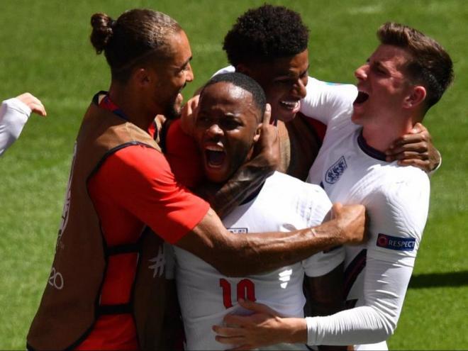 Sterling crida amb ràbia el gol de la victòria