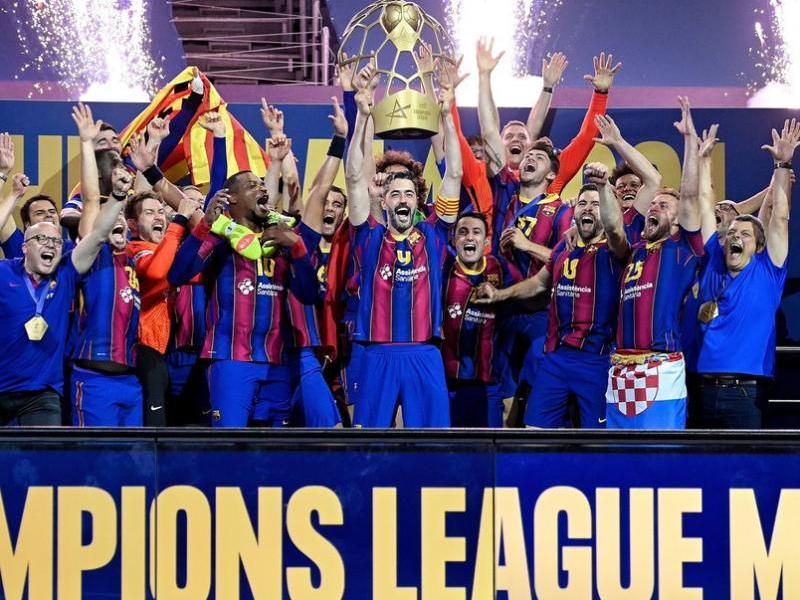 Raúl Entrerríos alça la desena copa d'Europa del Barça i rubrica una altra temporada perfecta a Colònia