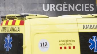 L'home va ser traslladat a l'hospital Parc Taulí de Sabadell