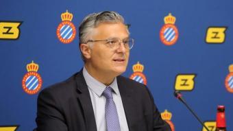 José Maria Durán ha repassat l'actualitat del club centrada en la renovació de Puado.