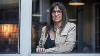 Imma Tubella aprofita que ara té temps lliure per escriure novel·les, una cosa que sempre havia volgut fer
