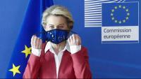 La presidenta de la Comissió Europea, Ursula Von der Leyen,
