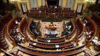 L'hemicicle del Congrés dels Diputats en una imatge d'arxiu