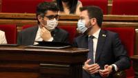 Puigneró i Aragonès al Parlament