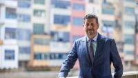 L'advocat Joaquim Boadas a Girona. Des del 1999, defensa l'oci nocturn legal