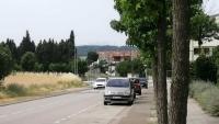 Una imatge del carrer Isidre Rossell i Gimbernat, on van passar els fets que denuncia l'Ajuntament