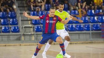 Ferrao , autor de dos dels cinc gols del Barça