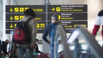 Imatge de l'aeroport del Prat
