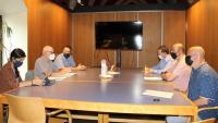 La reunió es va celebrar a l'ajuntament de Castelló, amb la presència de l'alcalde