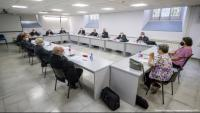 Reunió ahir dels bisbes catalans al Seminari Conciliar de Barcelona