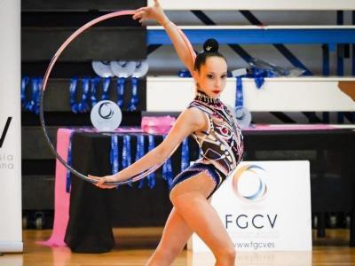 Judit Carmaniu, en una competició d'aquesta temporada