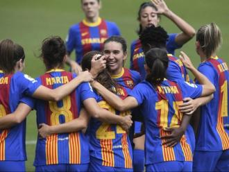 Les jugadores del Barça han fet una temporada històrica