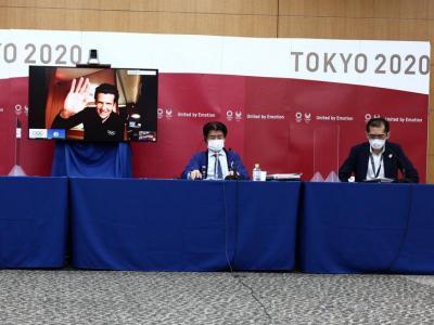 La presentació del manuel dels esportistes pels Jocs de Tòquio 2020