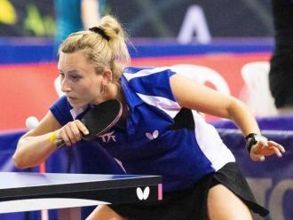 Gàlia Dvorak en el campionat d'Espanya que s'està disputant a Antequera