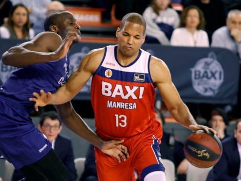 Eulis Báez ha defensat dues temporades la samarreta del Baxi Manresa