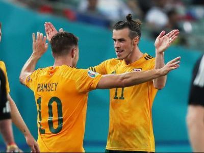 Ramsey i Bale van ser els protagonistes del partit