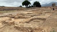 Pla general de l'illa de cases de la vila medieval que els arqueòlegs han posat al descobert