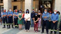 Minut de silenci a Vilanova i la Geltrú