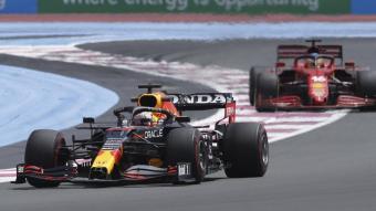 Verstappen per davant de Leclerc en el circuit de Paul Ricard