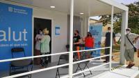 Els punts de vacunació ja són diversos arreu de la regió sanitària de Girona