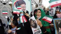 Seguidors d'Ebrahim Raisi celebren la victòria a Teheran