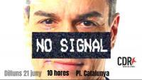 """Els CDR criden a protestar dilluns a Barcelona contra el """"teatre"""" de Sánchez al Liceu"""
