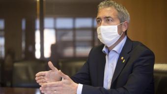 El conseller d'Educació, Josep González Cambray