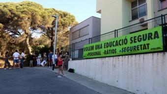 Imatge de la protesta