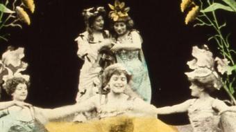 Fotograma de 'Les tulipes' (1907), curt dirigit per Segundo de Chomón