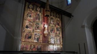 El retaule de Nostra Senyora de l'Escala.