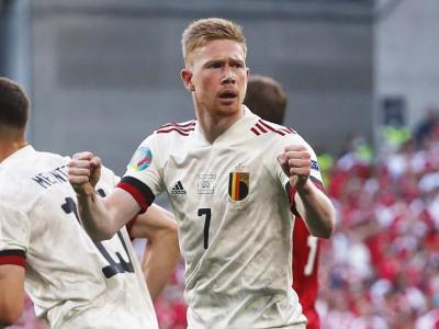 Kevin De Bruyne ha estat clau en la remuntada de Bèlgica per sumar els tres punts