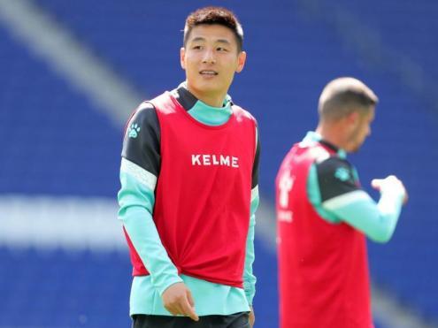 Wu Lei és un actiu clau per a l'Espanyol i té contracte fins al 2024.