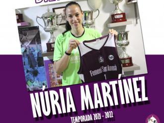 Núria Martínez torna i fitxa pel Sant Adrià