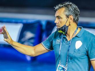 Gabi Hernández, durant la final a vuit de Belgrad