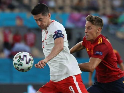 Lewandowski i Marcos Llorente