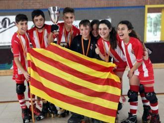 L'equip del Girona aleví campió d'Espanya