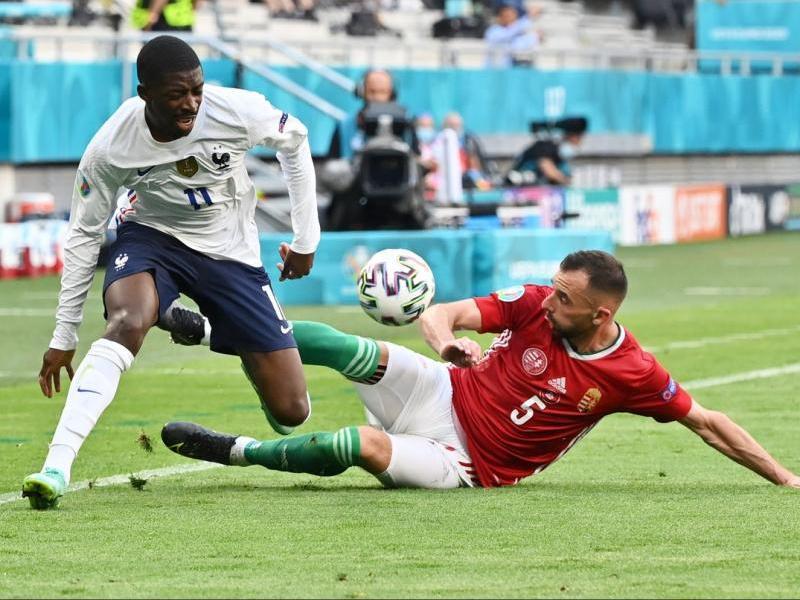 Dembélé es va lesionar en el partit contra Hongria