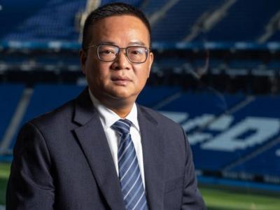 Chen Yansheng s'ha dirigit als accionistes i aficionats durant la Junta Extraordinària d'avui.