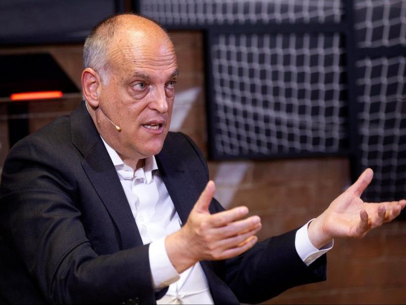 Javier Tebas crític amb el Barça