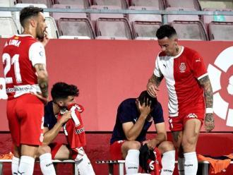 La decepció dels jugadors del Girona