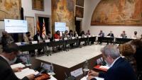 La comissió bilateral entre la Generalitat i l'Ajuntament de Barcelona es va reunir ahir al Palau de la Generalitat
