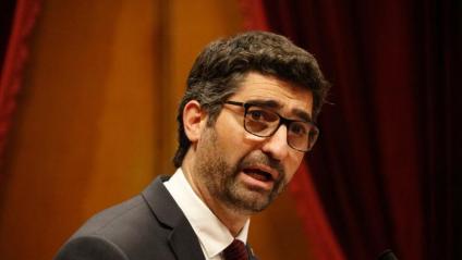 Jordi Puigneró en una imatge al Parlament