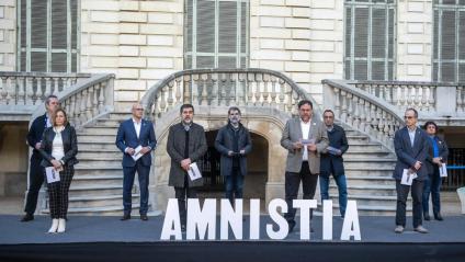 Els nou presos polítics