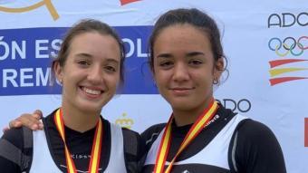 Algunes de les medalles catalanes