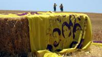 L'esplanada de Lledoners, que veurà avui sortir els presos homes