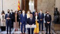 El govern va comparèixer ahir en ple per pronunciar-se sobre els indults i el demolidor informe del Consell d'Europa