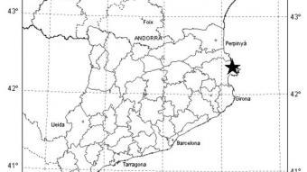 Terratrèmol de 2,3 a la costa de l'Alt Empordà