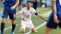 Sergio Busquets va tornar ahir a la selecció espanyola i va fer un gran partit