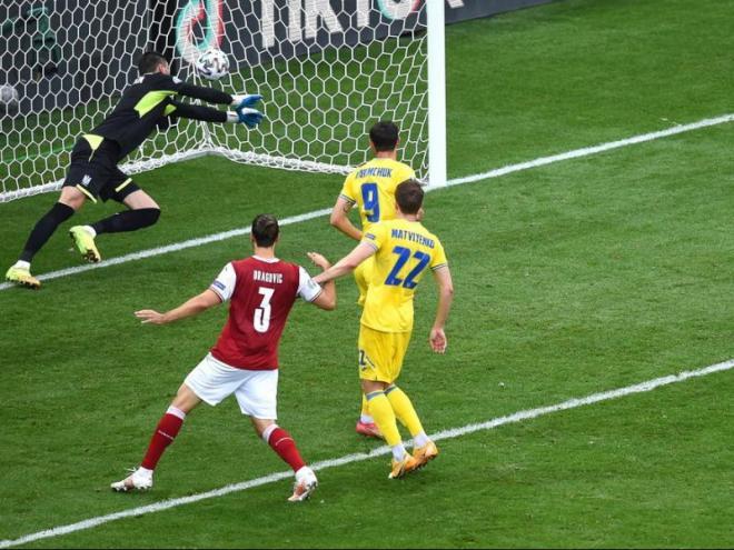 El gol de Baumgartner